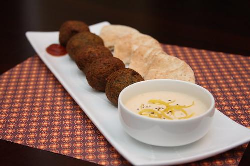 Falafel with Vegenaise Tahini