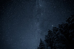 Milky Wayyy!!! (neatmummy) Tags: trip sky cold night canon finland way stars eos mark ii 5d wilderness eastern 31 milky f28 1635 1635mm lieksa 1635l 20102011