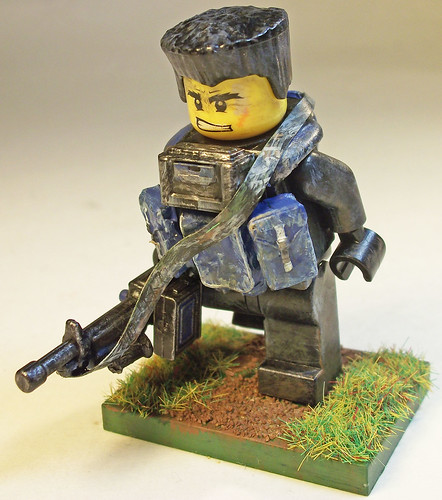 Custom minifig Sgt. Carl