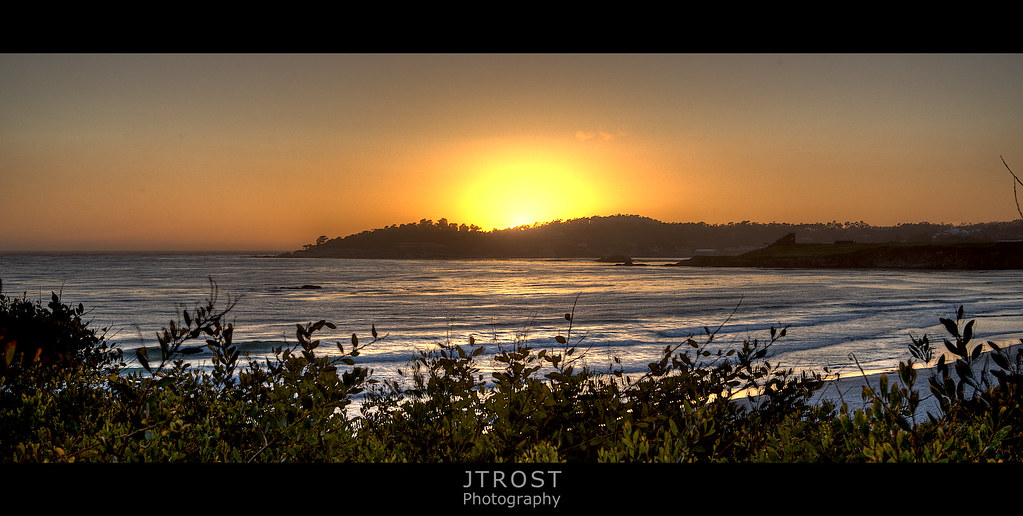 California Sun Set