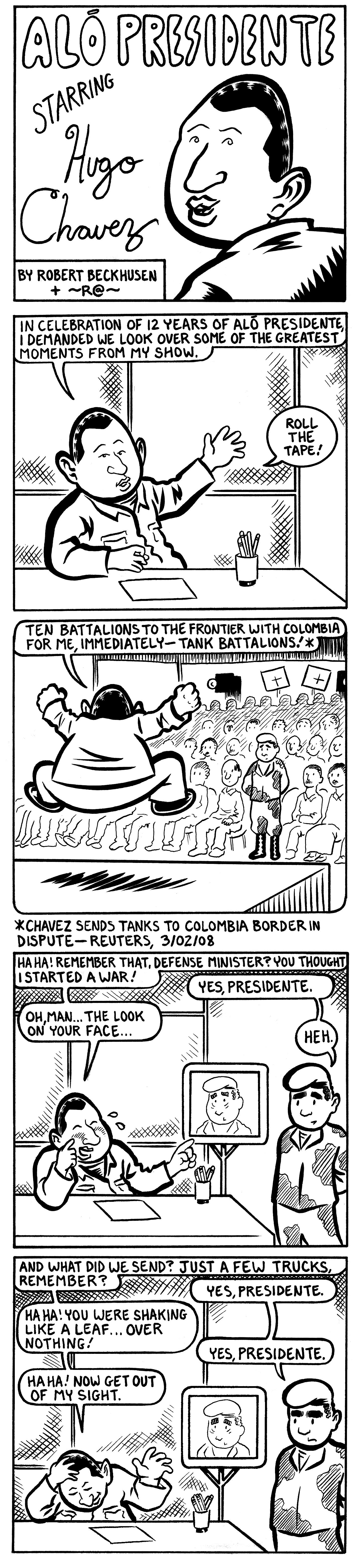 Hugo Chavez Comix #2