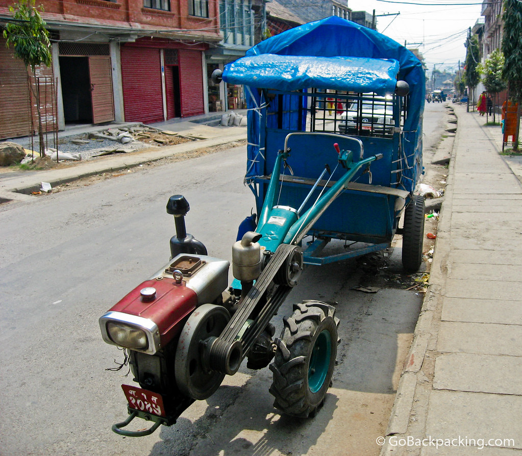Nepal's weirdest vehicle