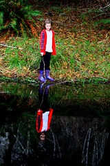 Sarah by the Pond (jkeenan501) Tags: girl reflections pond