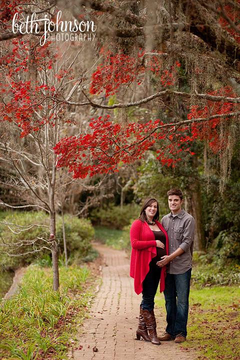 maclay gardens maternity photos