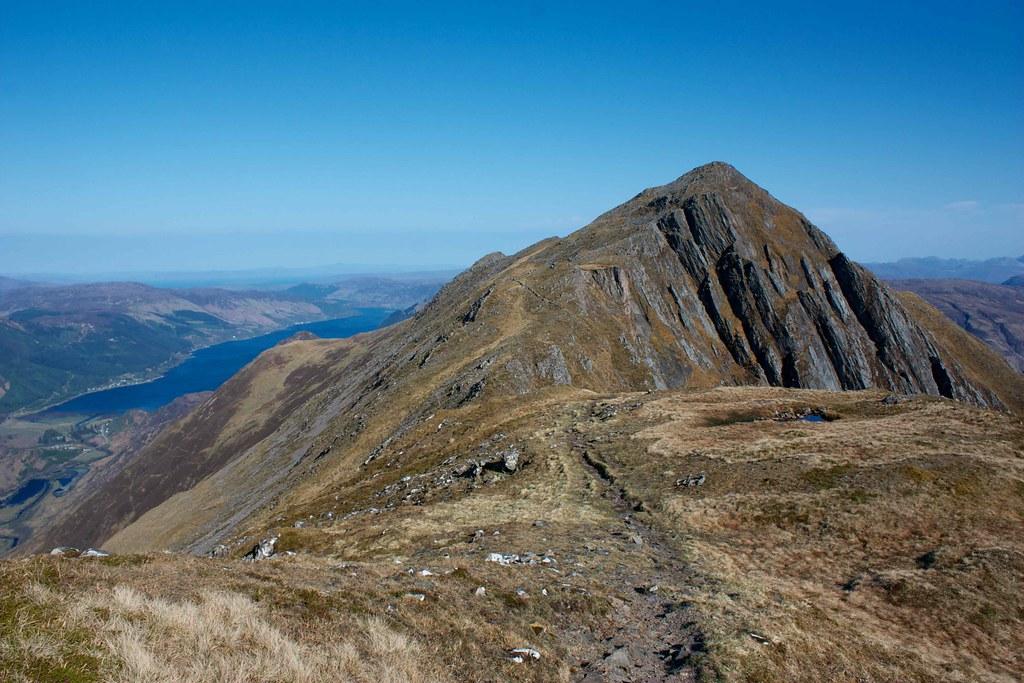 The ridge to Sgurr nan Saighead