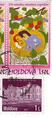 Moldovan stamps