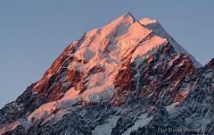 Mount Cook Sunset (Panorama Paul) Tags: paulbruinsphotography wwwpaulbruinscoza newzealand mountcook aoraki hookerriver hookervalley sunset nikond800 nikkorlenses nikfilters