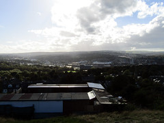Sheffield From Skye Edge, 2016 (Dave_Johnson) Tags: bramalllane sheffieldunited nofolkpark heeley netheredge sharrow trees moorland moor allotment allotments sheffield southyorkshire skyeedge skyedge standingattheskysedge skyline view