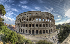 Colosseum (TheRealFrancese) Tags: colosseum colosseo roma rome italy travel city skyline sky clouds blue roman ancient