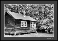Cabin at Hanka Homestead (the Gallopping Geezer 3.8 million + views....) Tags: building structure historic historical old antique rural backroads gravelroad farm dwelling home house village hankahomestead museum display park canon 5d3 tamron 28300 geezer 2016