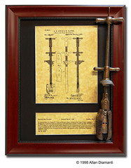 Boot and Shoe Stretcher (Engines of Ingenuity) Tags: our metal boot shoe design al mechanical antique device patents frame inventor gadget tool invention stretcher patent patented enginesofingenuity allandiamanti celebrationofinvention
