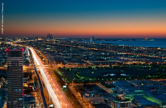 The Veins Of Dubai #7 (DanielKHC) Tags: road city blue light island al high nikon long exposure dubai cityscape view dynamic dusk uae trails aerial palm atlantis zayed arab hour veins range sheikh dri hdr burj d300 tamron1750mmf28 danielkhc gettyimagesmeandafrica1