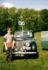 Eco Riley (Fred J Carss) Tags: green car riley clockwork eco 1952 rm rma ffv89