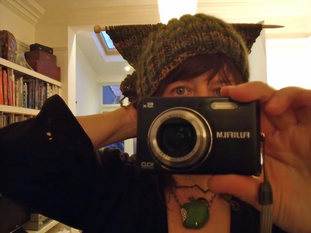 i knit a hat