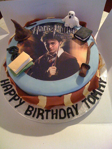 Birthday cake harry potter