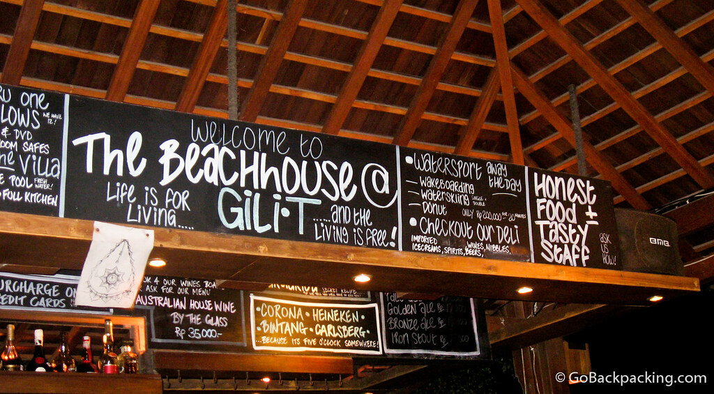 The Beachhouse restaurant