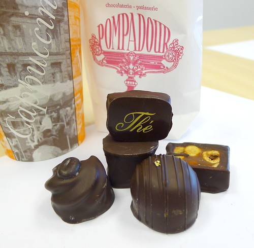 Chocolates & Coffee from Chocolaterie Pompadour in Amsterdam