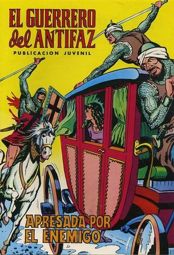 014-El Guerrero del antifaz nº 11 edicion en color-portada