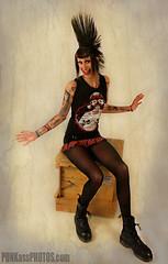 SHEA 1 Konformity Clothing (PUNKassPHOTOS.com) Tags: street black tattoo crust clothing punk boots piercing punkrocker mohawk punkrock heels gutter punx oi miniskirt pantyhose stud pogo punks platforms houndstooth sheer punker braclet punkass docmartins punkassphotos pikespeakderbydames candysnipers dangerdolls konformity rottenbeatertail