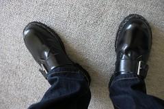 Gripfast Low-cut Boots after all soles repair (3) (GABURU) Tags: shoes boots gripfast unionworks