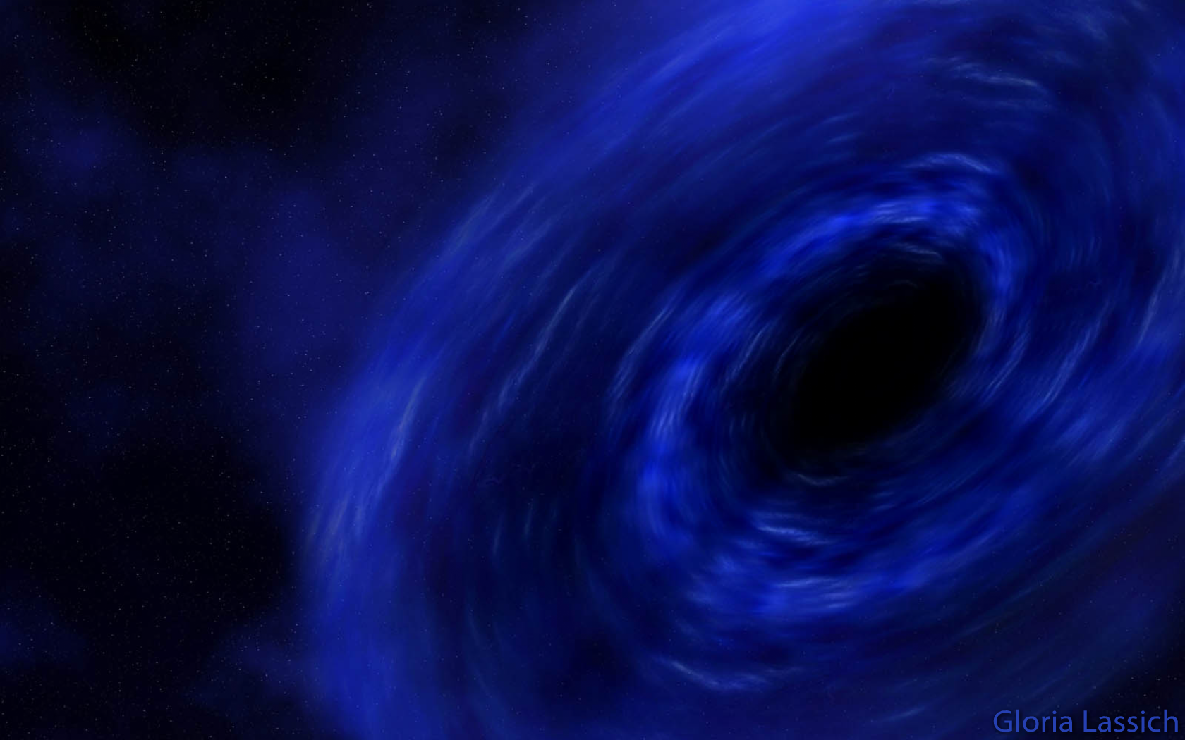 Black Hole - Blue