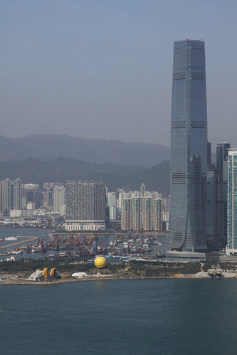 International Commerce Centre, the current tallest building on Hong Kong