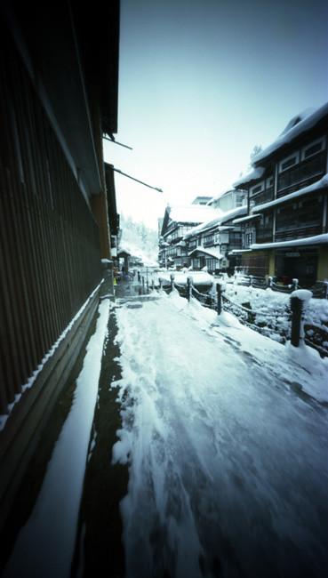 Ginzan Onsen , Ginzan hot spring