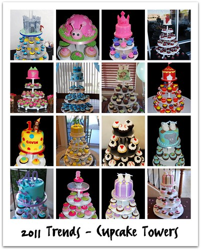 2011 Trends: Cupcake Towers