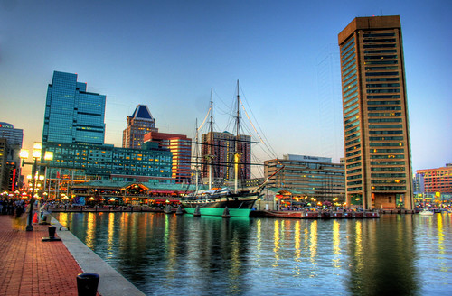 Inner Harbor, Baltimore (by: Kevin Labianco, creative commons license)
