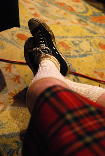 chucks and a kilt