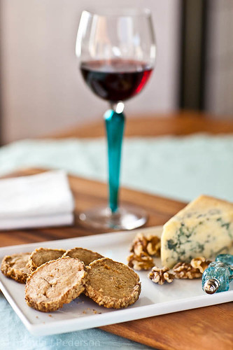 Stilton & Walnut Crackers