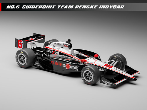 Team Penske Guidepoint No. 6 car