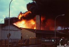 Brandkatastrophe Linde Kostheim 1971