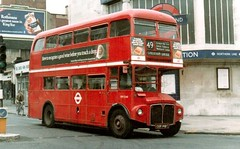 RM 2140 12/7/78 (colinfpickett) Tags: buses vintage lt rm londontransport dms