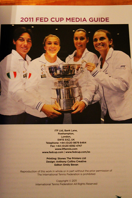 Fed Cup Media Guide