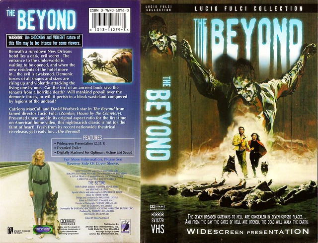 The Beyond (VHS Box Art)