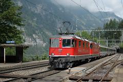 EC 90 Vauban @ Blausee-Mitholz (Wesley van Drongelen) Tags: train zug sbb trein ffs vauban ec eurocity cff blausee re44ii mitholz ltschberg nordrampe