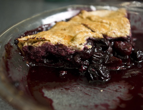 Rustic Cherry Pie - The Day After
