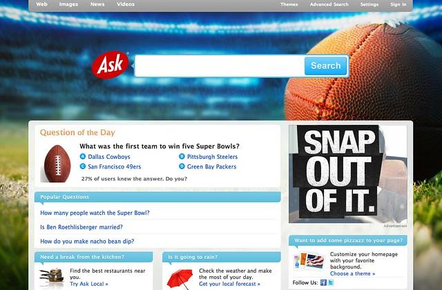 Ask Super Bowl Logo