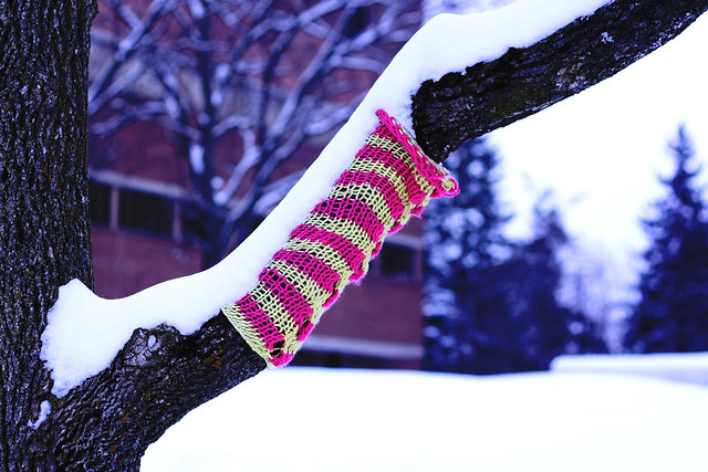 Day 159 - Knit Graffiti