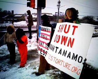 Anti-Torture Vigil - Week 35