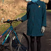 Chic cyclist