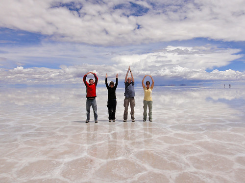 O-H-I-O on the Salt Flats.