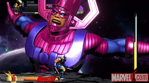 Marvel vs. Capcom 3  Galactus Trailer