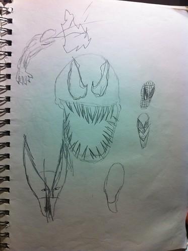 venom wolverine spider-man