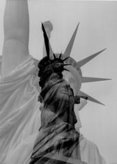 Statue Of Liberty Black & White In-Camera Double Exposure; New York, NY (hogophotoNY) Tags: nyc newyorkcity blackandwhite ny newyork france slr film statue vertical analog liberty doubleexposure manhattan landmarks landmark patriotic multipleexposure torch gift newyorkstate analogue statueofliberty bigapple newyorknewyork analogphotography lowermanhattan libertyisland ladyliberty incamera famousstatue famouslandmark fromfrance filmslr filmphoto newyorkcitylandmark newyorklandmark giftfromfrance hogo filmphotograph hogophoto filmdoubleexposure famousnewyork filmmultipleexposure famousnyc