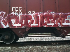 dajam (RealestForreal) Tags: train graffiti freight graffititrain graffitifreight
