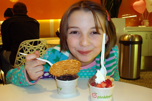 pinkberry ending to mondo evening