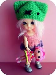 Grape e sua ragdoll rosa (Teka e Fabi) Tags: