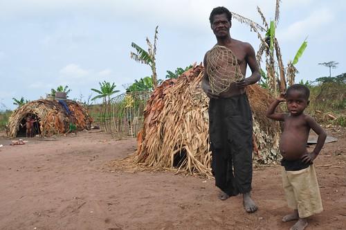 Small pygmy village